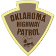 State of Oaklahoma highway patrol badge
