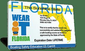 Florida Boating Safety Education ID Card