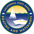 California state parks, boating and waterways official badge