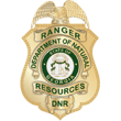 Georgia department of natural resources official badge