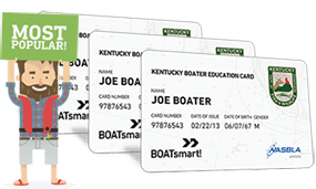 Lost Kentucky Boater Education Certificate 3 Pack Bundle