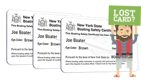 Lost New York Boater Safety Certificate 3 Pack Bundle