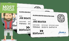 Lost Alaska Boater Education Card 3 Pack Bundle