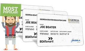 Lost Georgia Boater Education Card 3 Pack Bundle