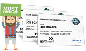 Lost Idaho Boater Education Card 3 Pack Bundle