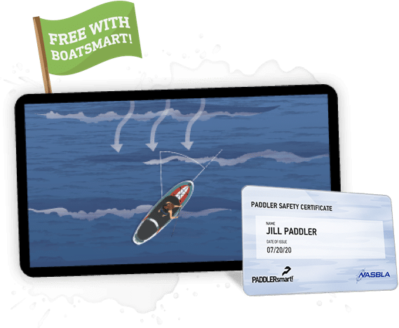 Free PADDLERsmart course tablet and certificate