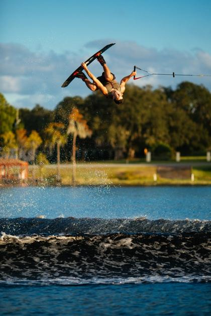 """Image of """"The Tantrum"""" wakeboarding trick."""