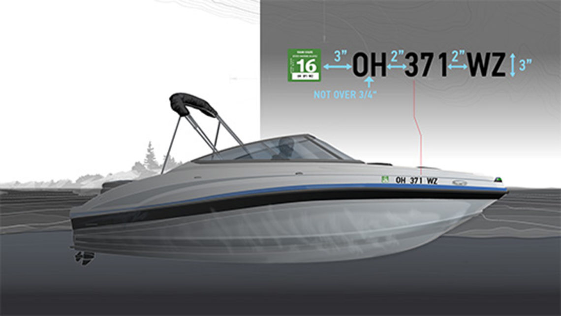 boat registration process in Ohio