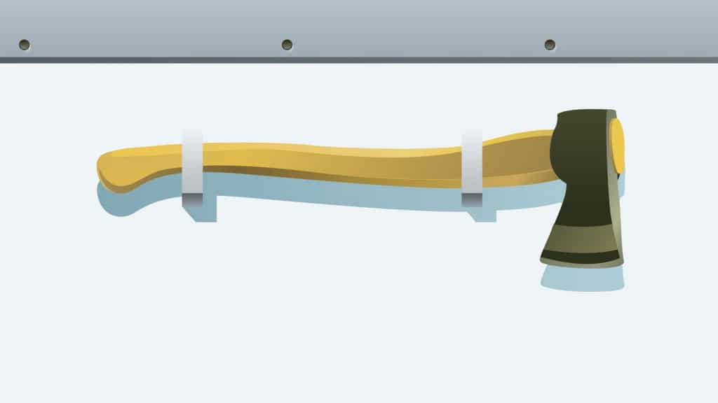 Boat Safety Equipment Axe