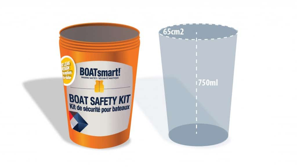 Boat Safety Equipment Bailing Device