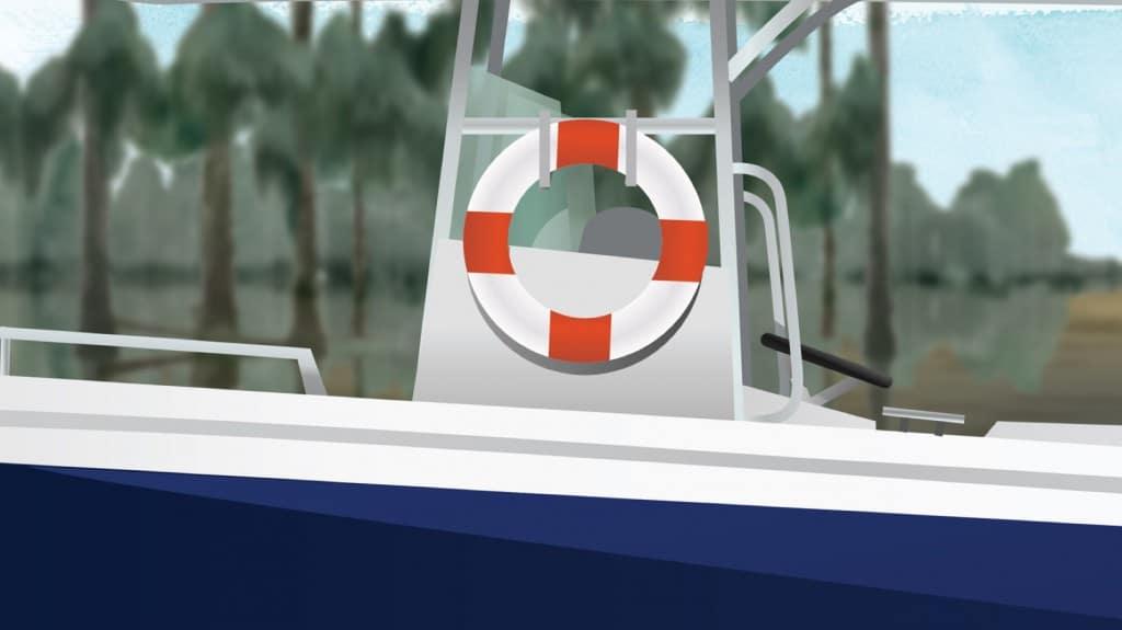 Boat Safety Equipment Lifebuoy