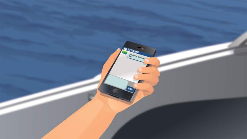 Limitations of signaling distress with cell phone