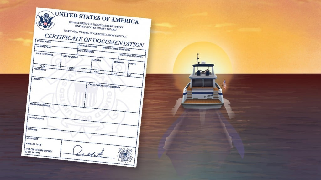 Federal Documentation for Boats