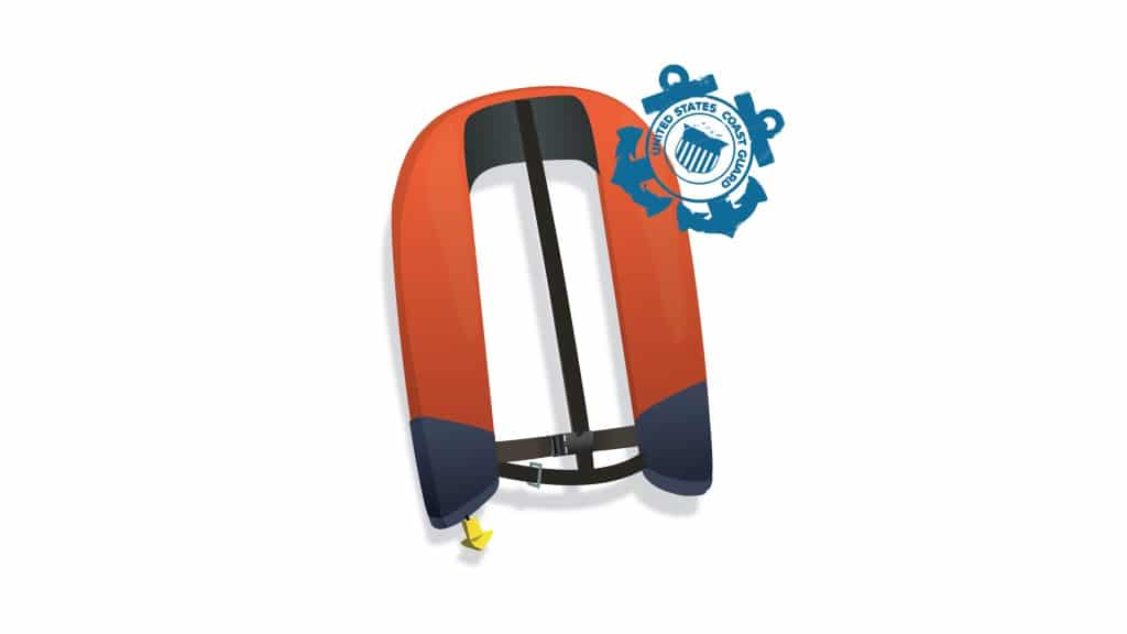 USCG Approved Inflatable Life jacket