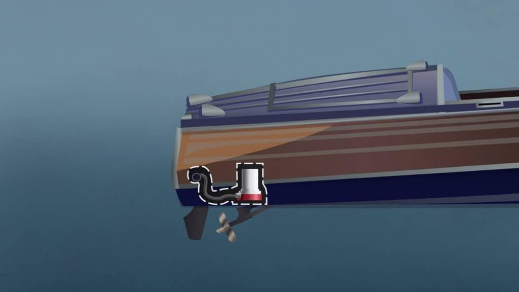 Boat ventilation system maintenance